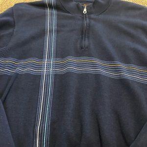 Greg Norman Blue long sleeve zipper jacket